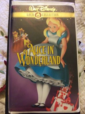 Walt Disney Gold Classic Collection Alice In Wonderland VHS for Sale in St. Louis, MO