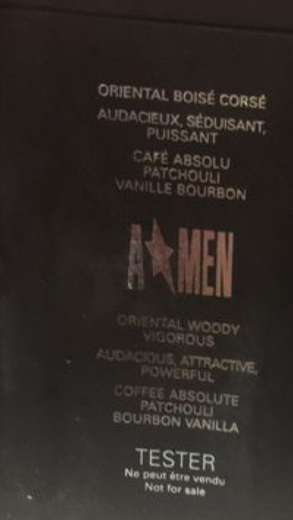 Authentic ANGEL A men 100 ml