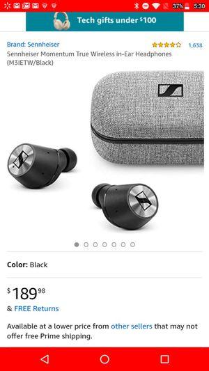 Sennheiser True Wireless headphones for Sale in UNM, NM