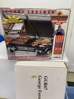 Brand New George Foreman split grill for Sale in Tyler, TX