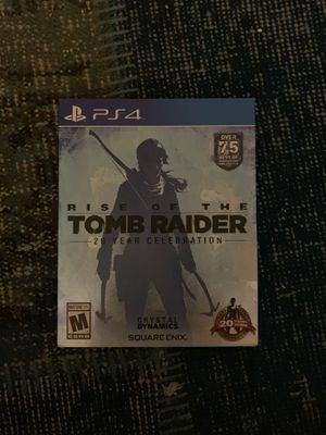 PS4 rise of the tomb raider for Sale in Newport Beach, CA