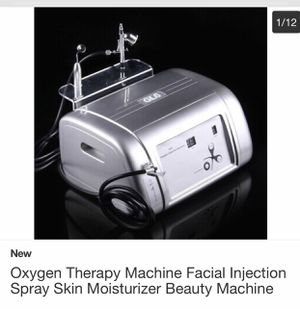 Oxygen Therapy Injection Spray Machine (Facial) for Sale in Covina, CA
