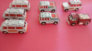 Tootsie Toys Vintage Fire & Rescue Collection for Sale in Cape Coral, FL