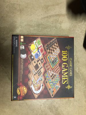 100 games in one - board game for Sale in Arlington Heights, IL