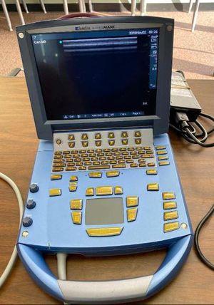 Portable Sonogram Machine Sonosite MicroMaxx Includes Ultrasound probe L38e/10-5 for Sale in Gaithersburg, MD