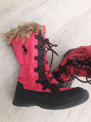 Ralph Lauren girls water proof Winter boots size 11 for Sale in Chesapeake, VA