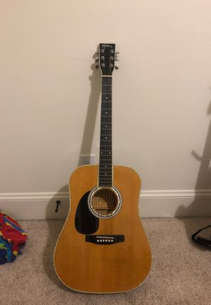 Acoustic guitar (left handed with plugins) for Sale in Apex, NC