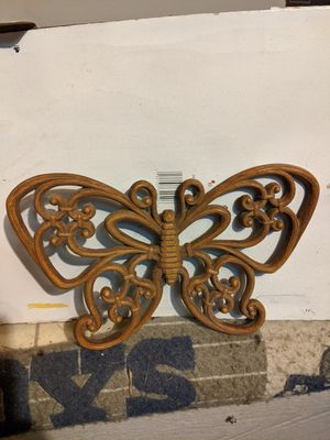 Butterfly decor plastic for Sale in Austin, TX