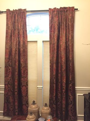 GORGEOUS CURTAIN SET for Sale in Friendswood, TX