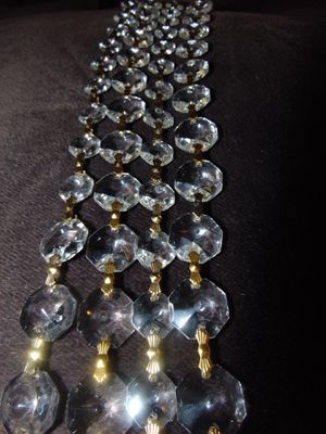 Crystal strands for chandeliers and lamps for Sale in Las Vegas, NV