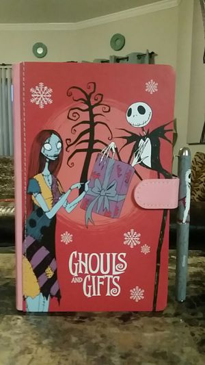 The Nightmare Before Christmas Exclusive Journal with Pen. for Sale in Round Rock, TX