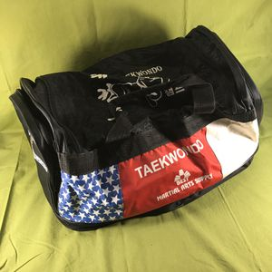 """Tae Kwon Do 20"""" Gear Duffle Bag for Sale in Anchorage, AK"""