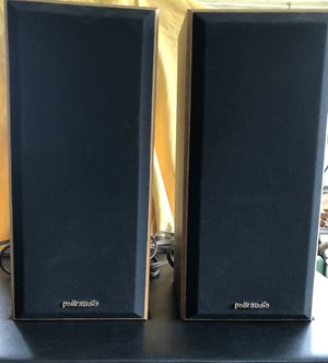 Classic Pair of Polk Audio Monitor 5 Series 2 Speakers for Sale in Chelmsford, MA