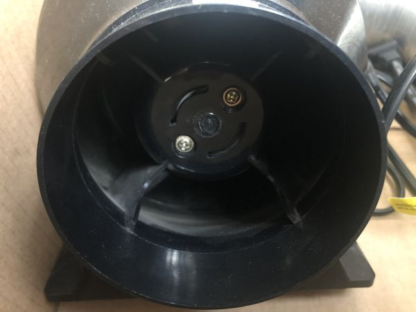 Inline Duct Ventilation Fan Vent Blower for Grow Tent & Greenhouse