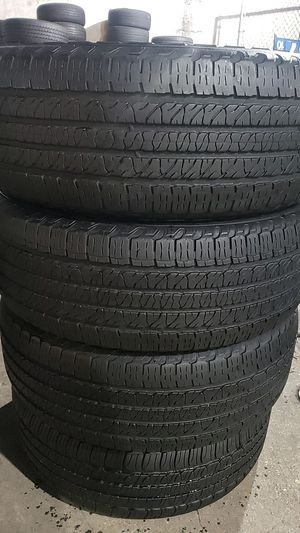 Four matching Goodyear tires for sale 265/50/20 for Sale in Washington, DC
