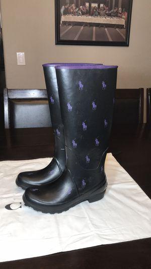 Polo by Ralph Lauren Rain Boots. Women's Size 6 for Sale in Las Vegas, NV