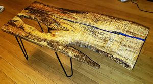 Spalted Maple Coffee Table for Sale in Cashmere, WA