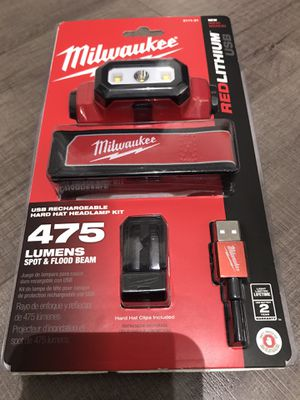 Milwaukee 475 Lumens LED Rechargeable Hard Hat Headlamp for Sale in Hayward, CA