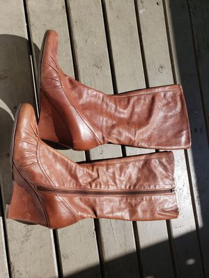 Brown Aldo leather boots for Sale in Tacoma, WA