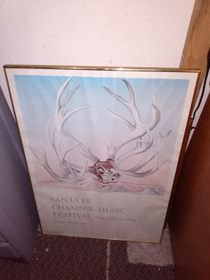 """Picture frame good condition.36"""" by 25"""" for Sale in Kent, WA"""