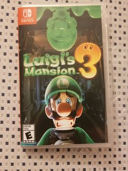 Luigi's Mansion for Nintendo Switch Games for Sale in Anaheim,  CA