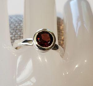 Natural Garnet Ring for Sale in Leavenworth, WA