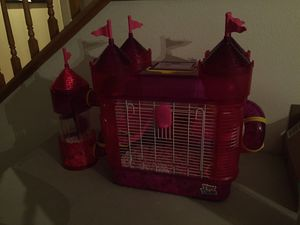 Hamster with cage for Sale in Chino Hills, CA