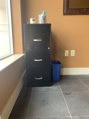 3 Drawer Filing Cabinet for Sale in Houston, TX
