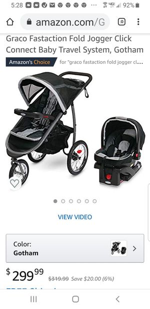 Graco jogger travel system, Gotham for Sale in Piqua, OH