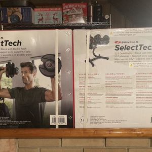BowFlex Selectech 552 with Media Stand for Sale in Alexandria, VA