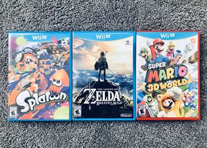 Nintendo Wii U Games for Sale in Somerville, MA