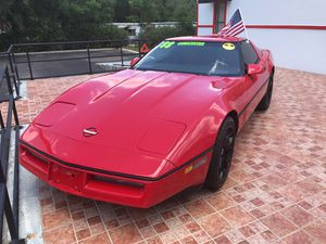 1988 Chevy corvette !! Red! Cold A/C!! for Sale in Orange City, FL