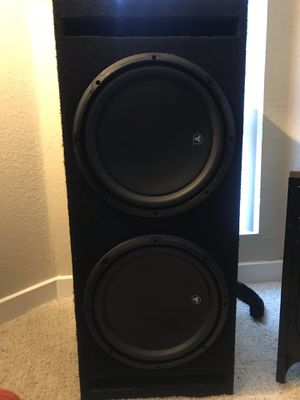 JL Audio Subwoofer for cars for Sale in West Hollywood, CA