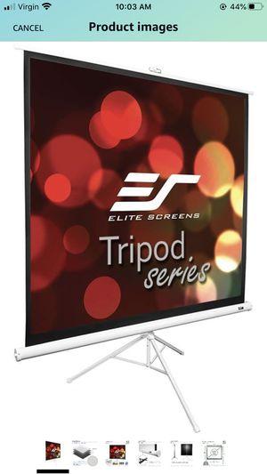 Projector with tripod screen for Sale in Miami, FL