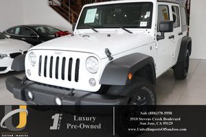 2017 Jeep Wrangler Unlimited for Sale in San Jose, CA