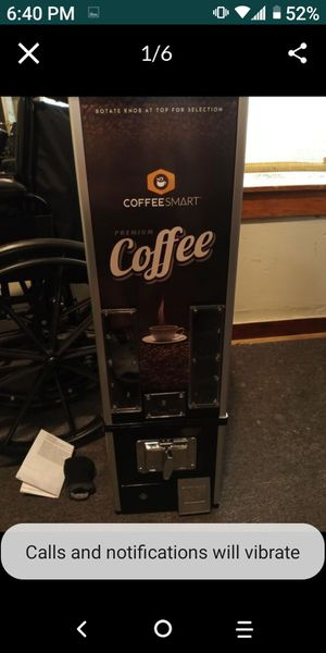 new Coffee pod vending machine for Sale in Worcester, MA