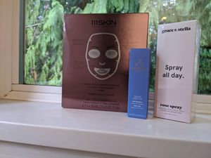 Grace & Stella spray all day, roller ball, rose gold face mask for Sale in Redmond, WA