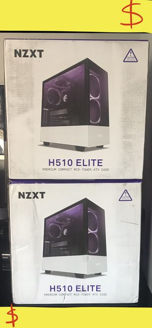 NZXT 510 ELITE Gaming Computer Case Tower ••BRAND NEW•• for Sale in Los Angeles, CA