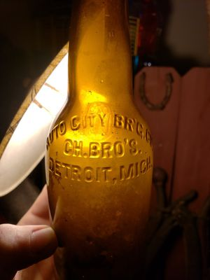 VERY RARE 1911-1919 Auto City Brewing Co bottle Detroit Michigan (SEE ALL PICTURES) for Sale in Columbus, OH
