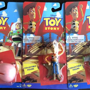 Toy Story Collectibles Figures All 3 For for Sale in Tustin, CA