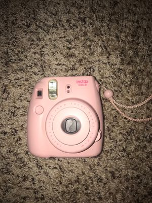 Instax mini 8 instant camera with case and 19 films included for Sale in West Bloomfield Township, MI