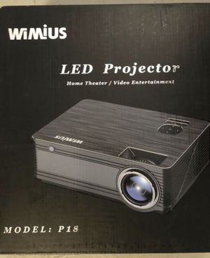 WiMiUS P18 Projector for Sale in Calabasas, CA