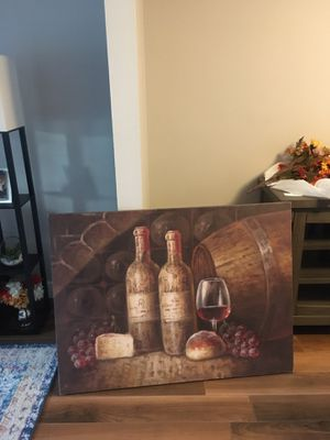 """Wine painting 47""""L x 35""""H for Sale in Lutz, FL"""