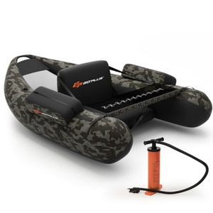 🔥 Inflatable Fishing Float Tube w/Adjustable Straps Home & Pockets & Fish Ruler for Sale in Anaheim, CA