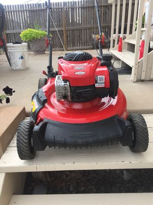 Troy Bill powered by Briggs Stratton high performance start right up 5.0 horse power 140cc for Sale in Colorado Springs, CO