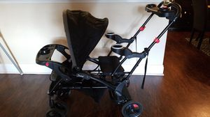 Double stroller Sit n stand by baby trend for Sale in McKnight, PA