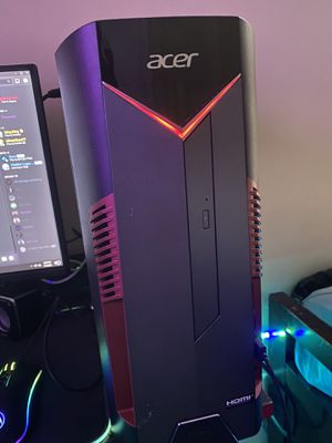 Gaming pc setup for Sale in Stone Mountain, GA