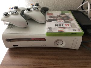 Xbox 360, controllers and game for Sale in Atherton, CA