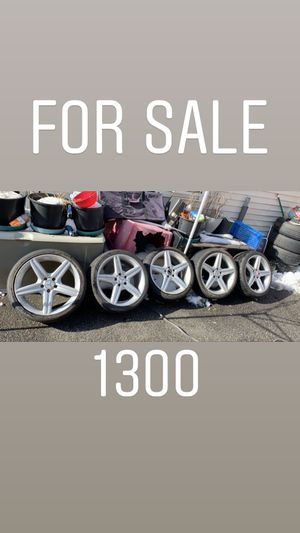 Wheels amg for Sale in Lawrence, MA