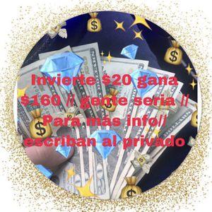 Invierte 20 Y Gana 160 for Sale in Miami, FL